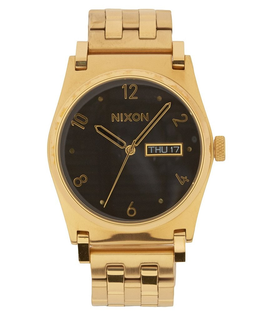 Nixon Jane Analog and Date Stainless Steel Bracelet Watch