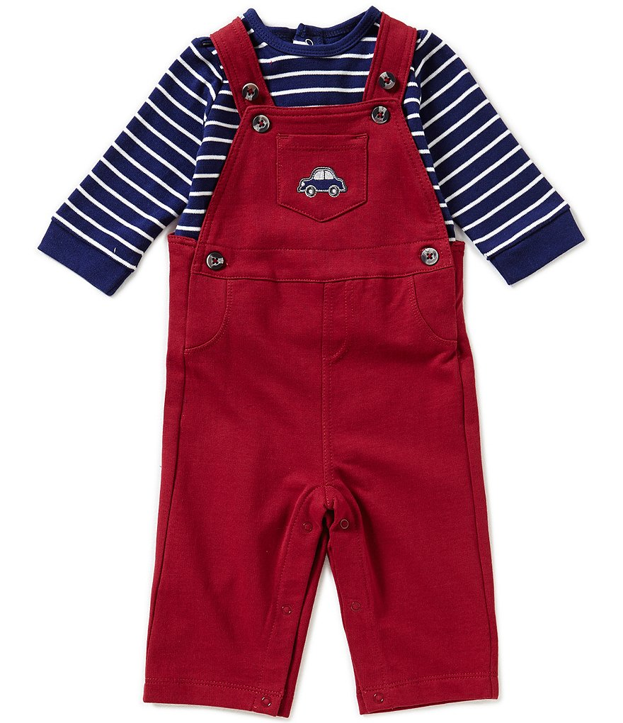 Little Me Baby Boys 3-12 Months Car Overall Set