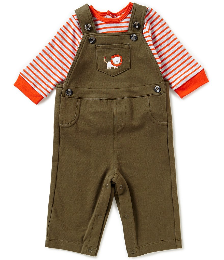 Little Me Baby Boys 3-12 Months Lion Overall Set