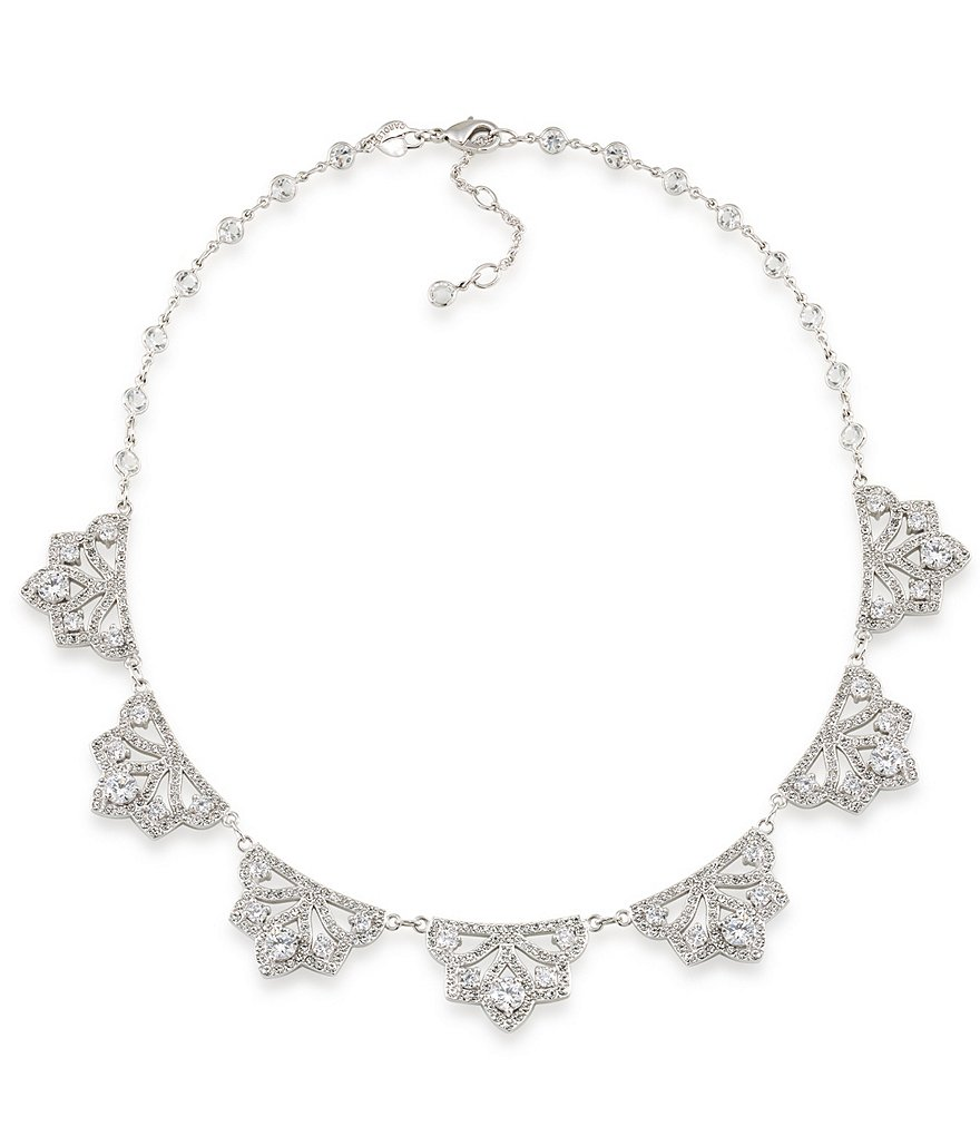 Carolee The Cloisters Crystal Collar Necklace