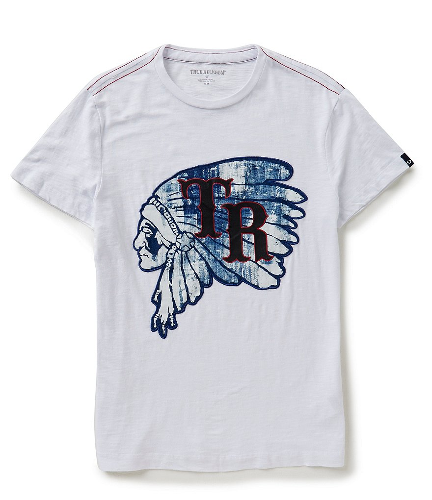 True Religion Chief Short-Sleeve Graphic Tee