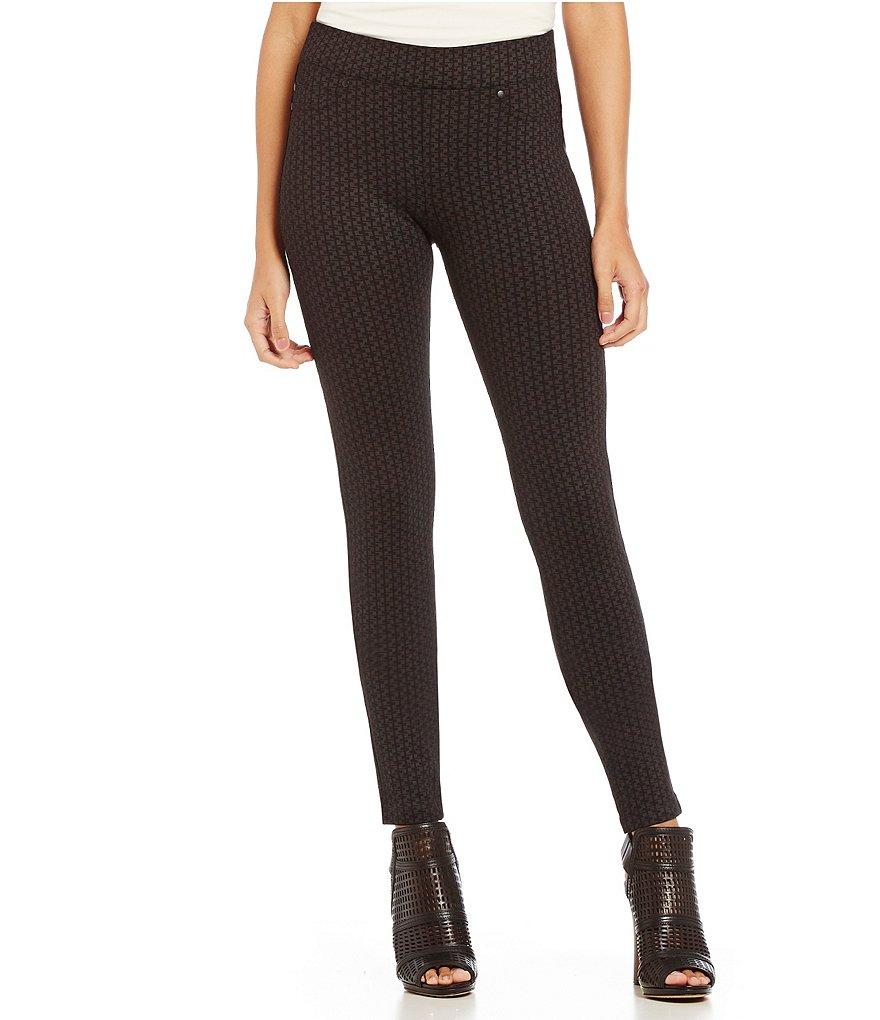 Liverpool Jeans Company ´Quinn´ Patterned Pull-On Ponte Skinny Pant