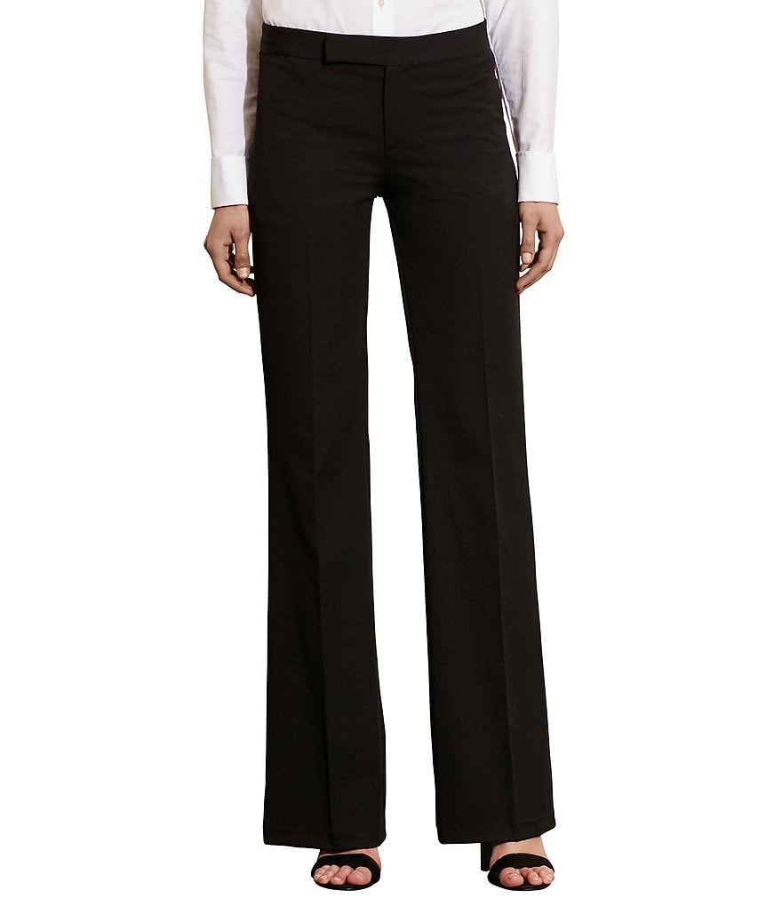 Lauren Ralph Lauren Stretch Twill Flared Pant