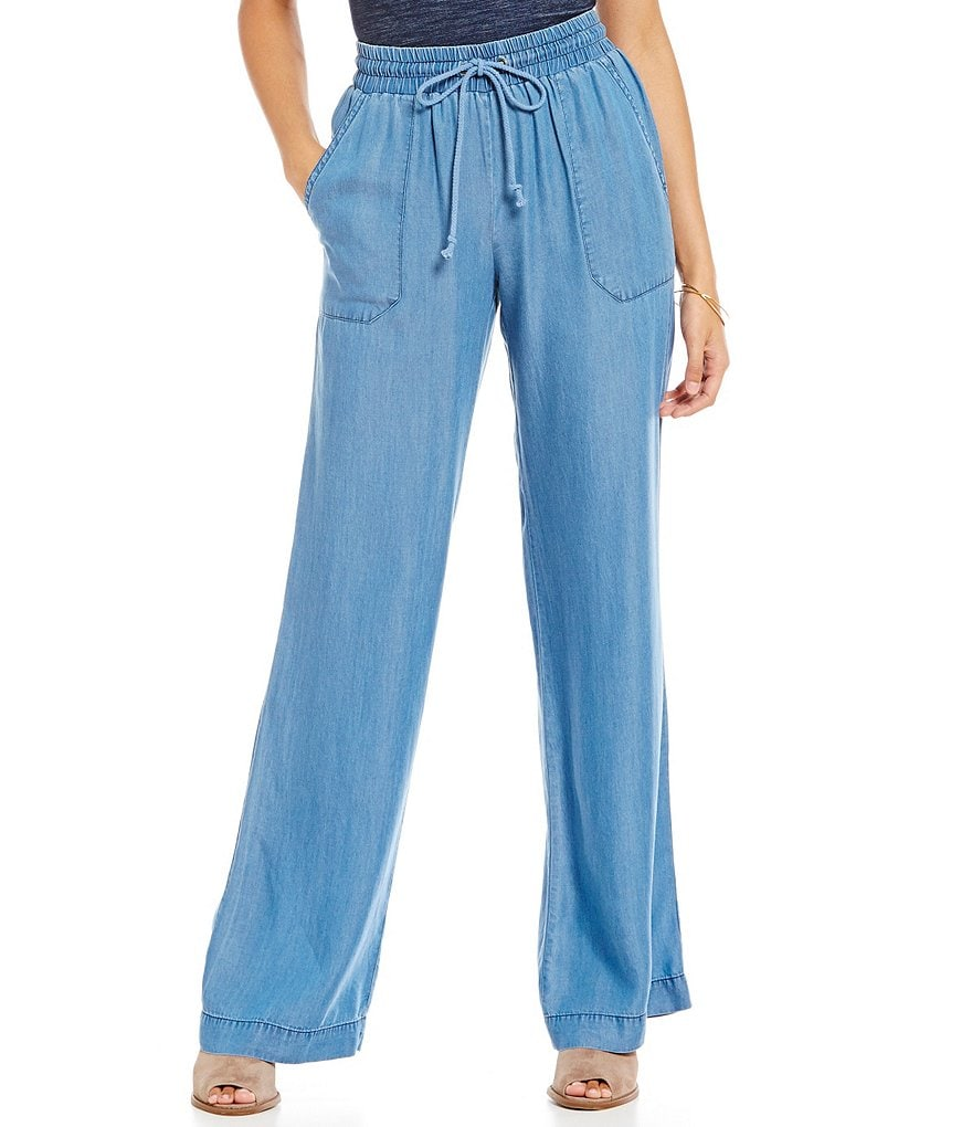 Soulmates Chambray Soft Pants