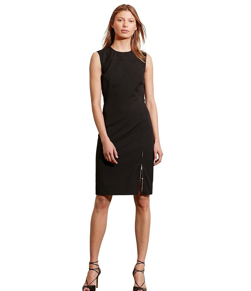 Lauren Ralph Lauren Paneled Sheath Dress