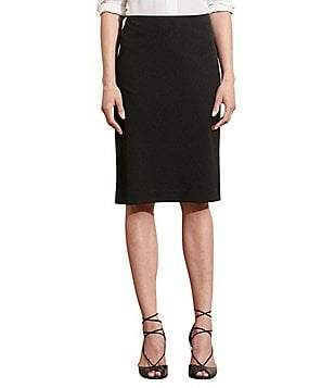Lauren Ralph Lauren Stretch Twill Pencil Skirt