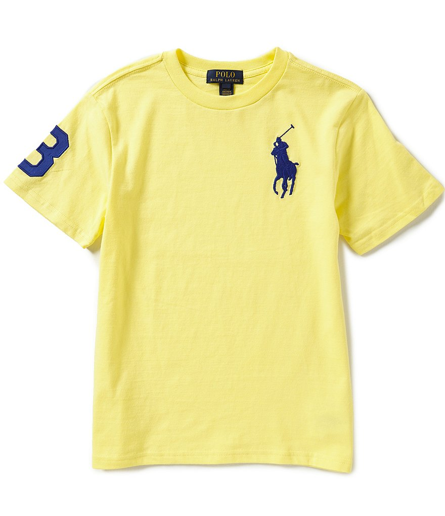 Ralph Lauren Childrenswear Big Boys 8-20 Big Pony Crewneck Jersey Tee