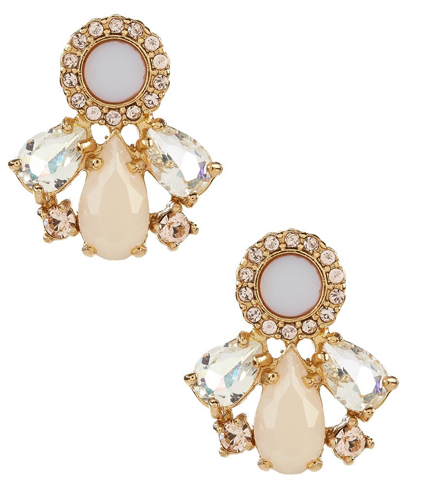 kate spade new york At First Blush Cluster Mother-of-Pearl Stud Earrings