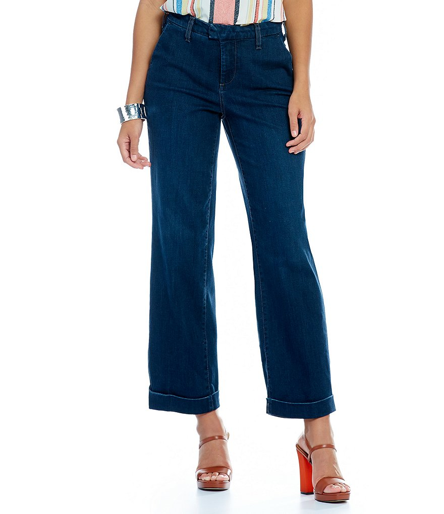 NYDJ Petite Mila Relaxed Ankle Jeans