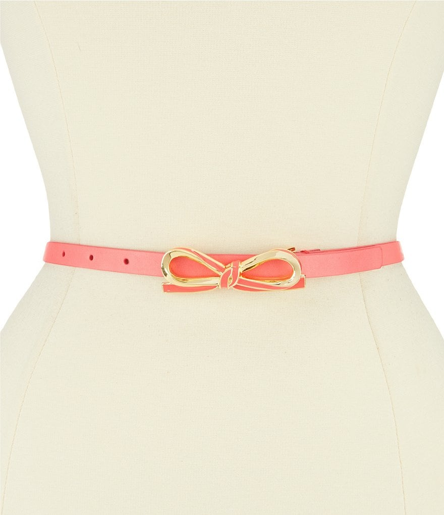 kate spade new york Bow Buckle Belt