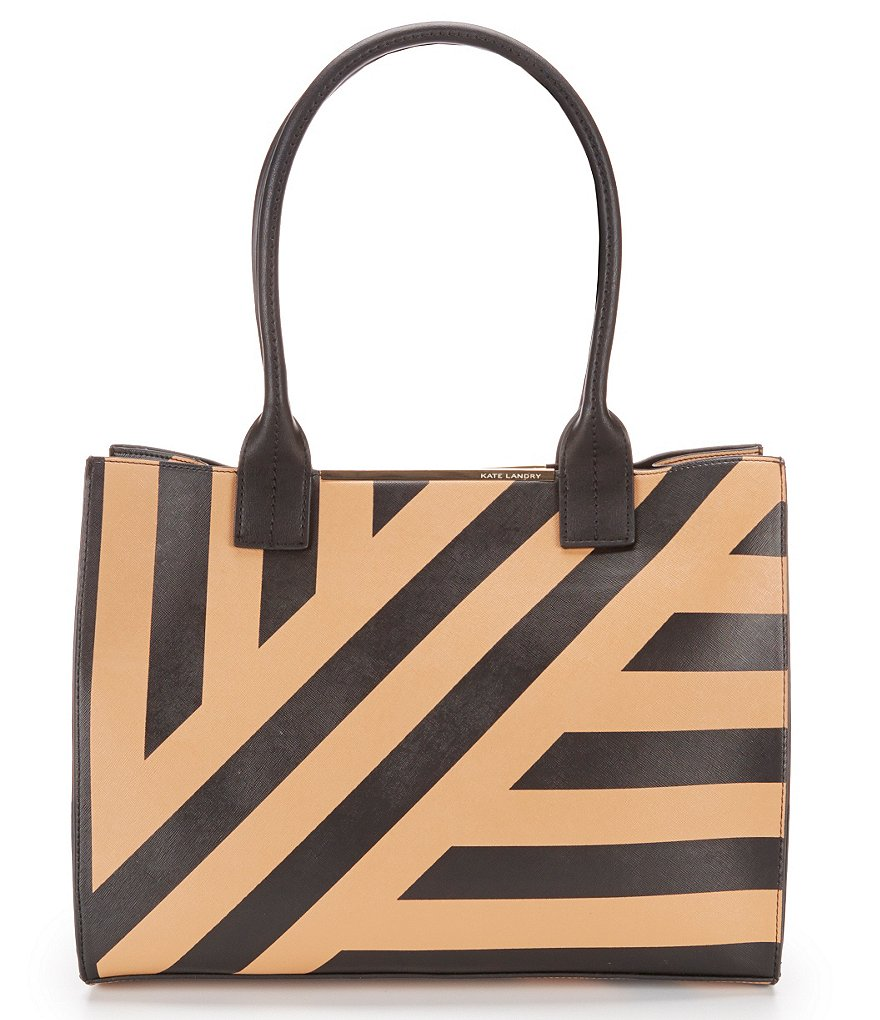 Kate Landry Cabana Striped Tote