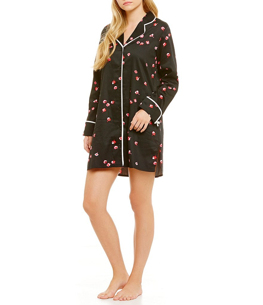 kate spade new york Floral Sateen Sleepshirt
