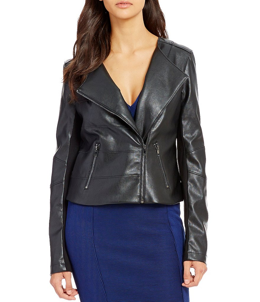 Guess Shaun Long-Sleeve Cropped Jacket