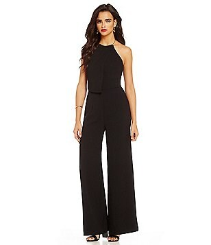Keepsake Clockwork Halter Neck Sleeveless Jumpsuit