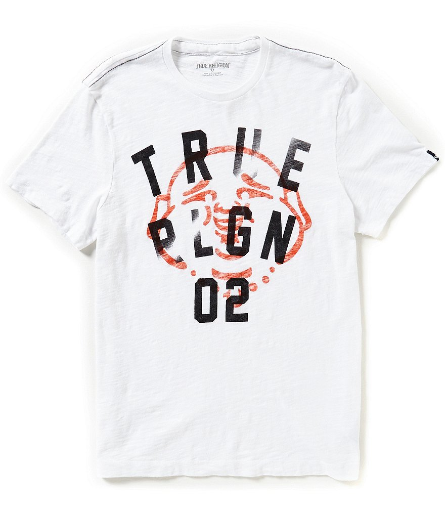 True Religion Buddha Logo Graphic Tee