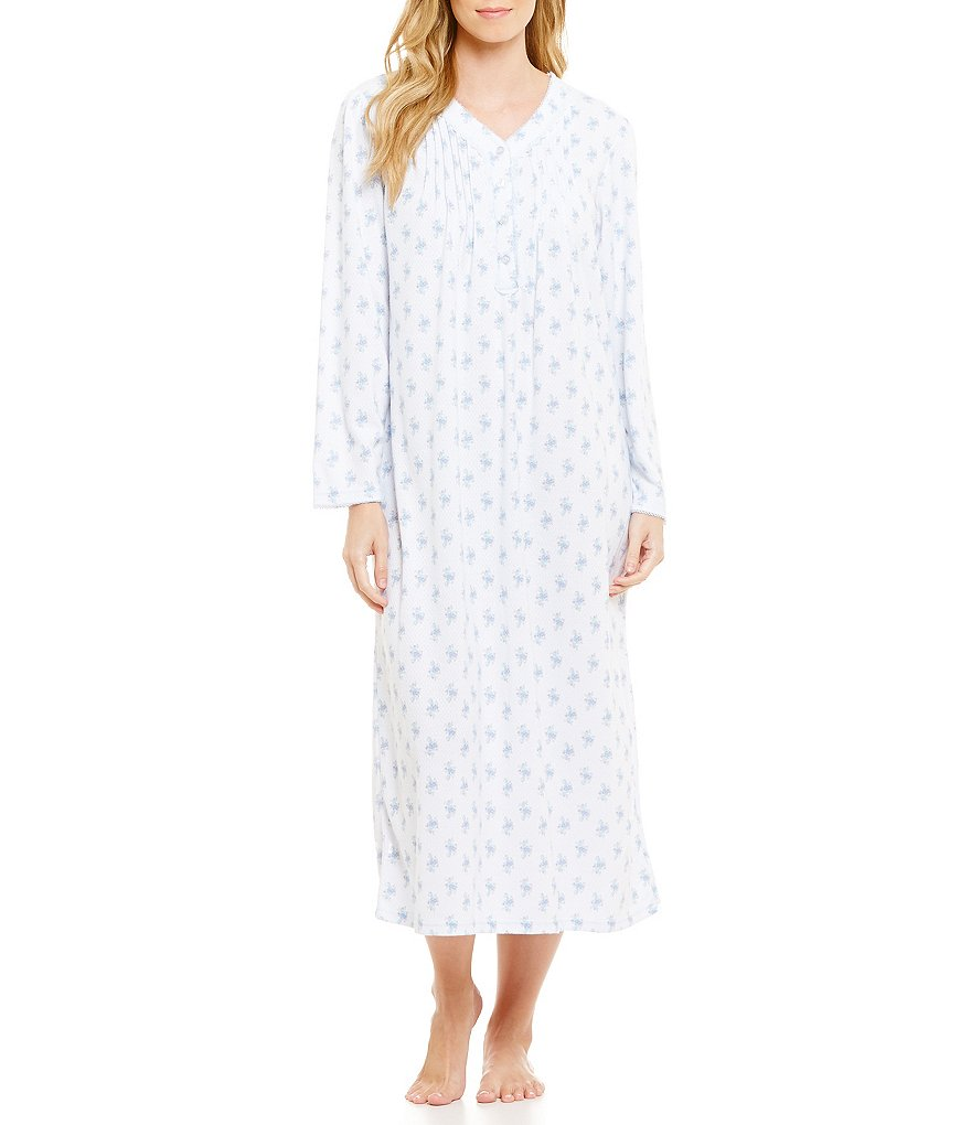 Miss Elaine Floral Nightgown