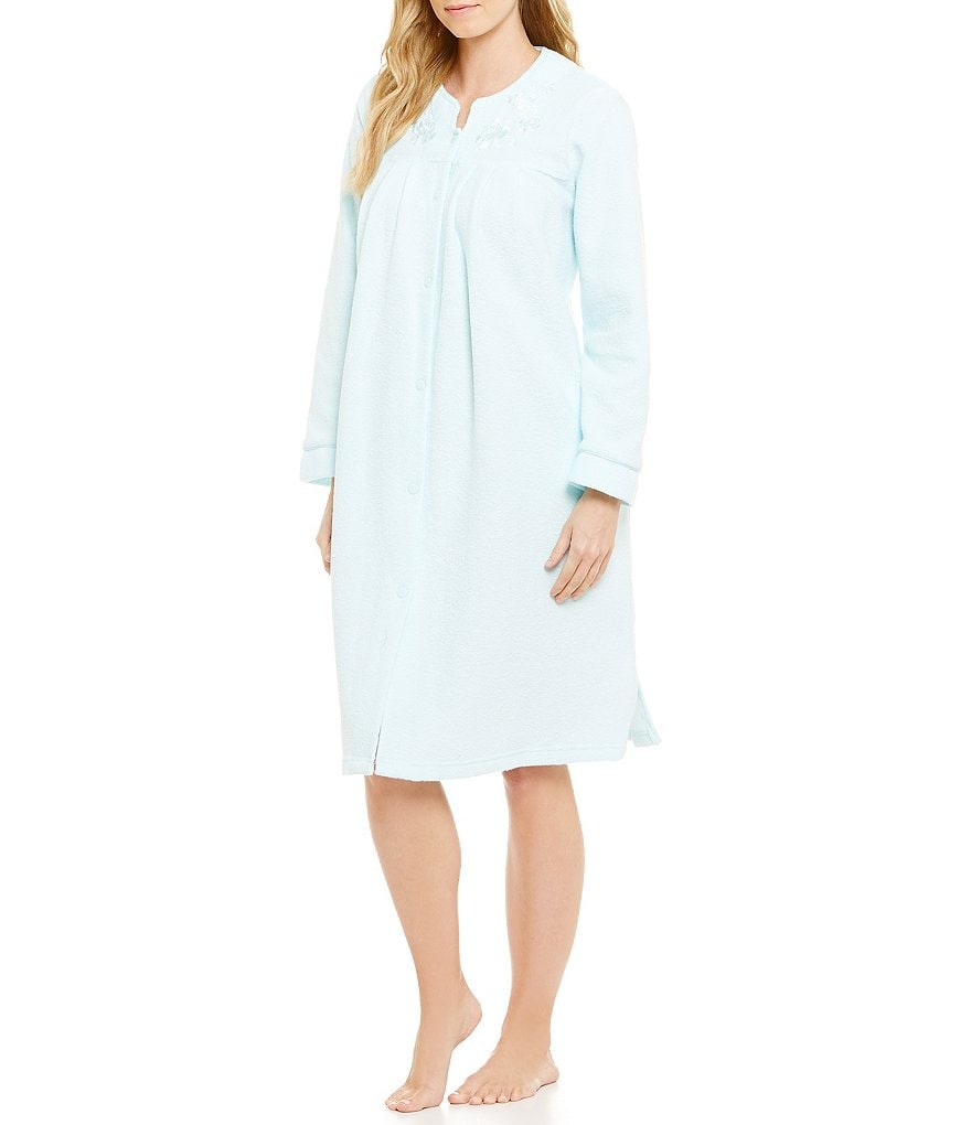 Miss Elaine Petite Honeycomb Terry Robe