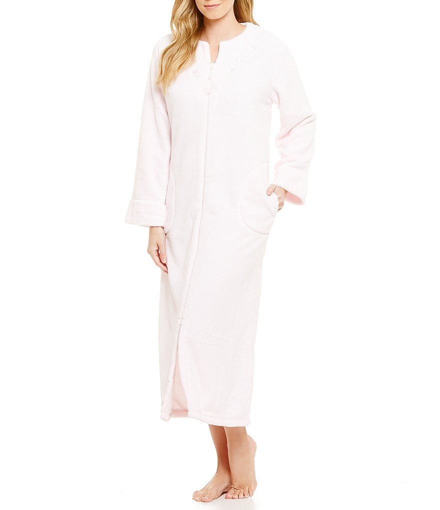 Miss Elaine Petite Fleece Zip Robe