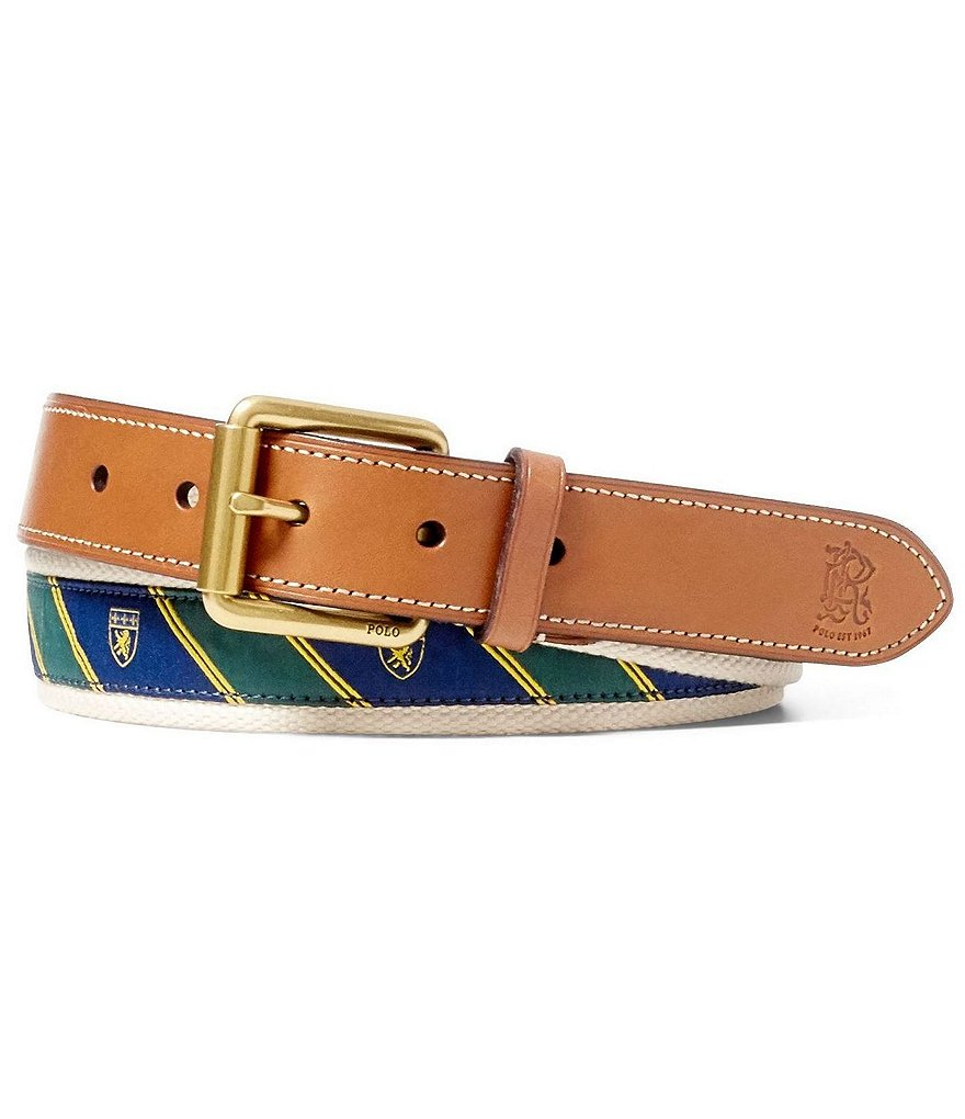 Polo Ralph Lauren Stripe Icon Belt