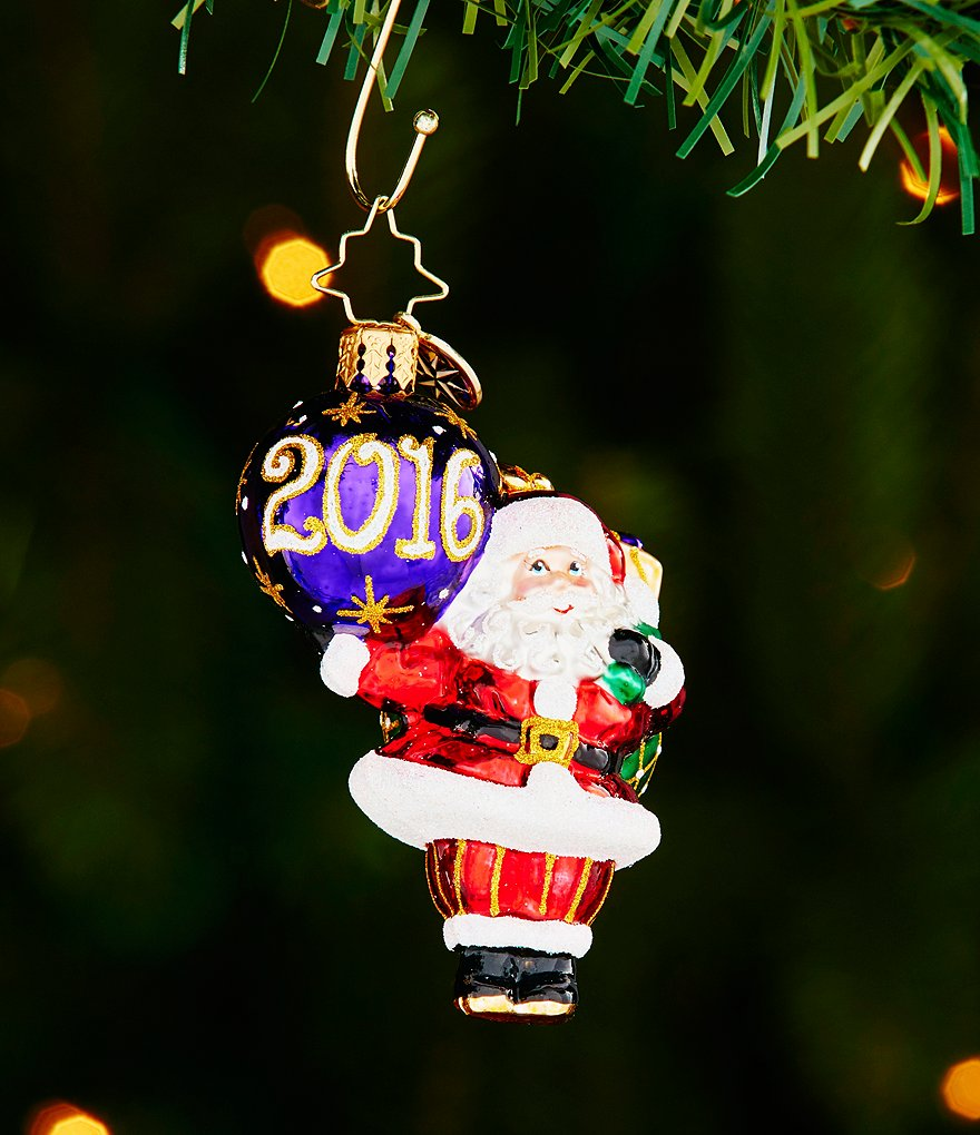 Christopher Radko 2016 Little Gem Collection My Favorite Year Ornament