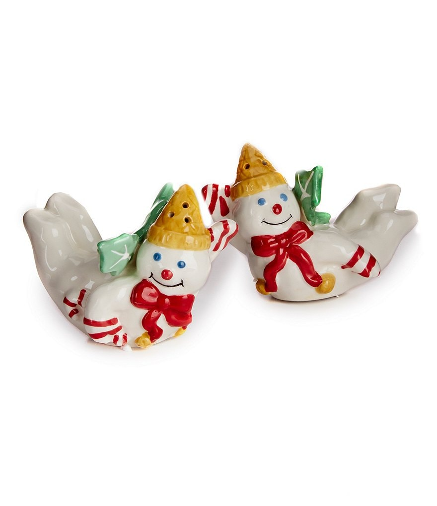 Noble Excellence Holiday Mr. Bingle Salt & Pepper Shaker Set