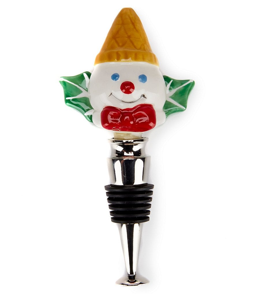 Noble Excellence Holiday Mr. Bingle Bottle Stopper