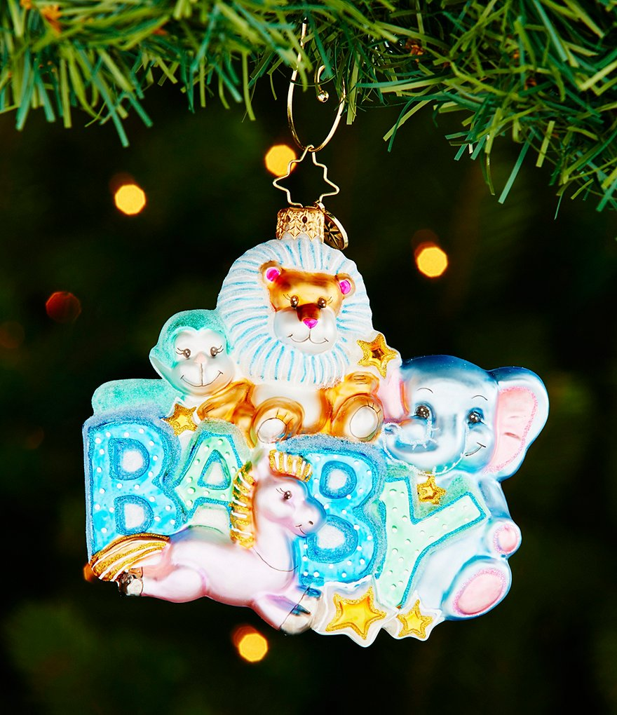Christopher Radko 2016 Baby Collection Lullaby Baby Ornament