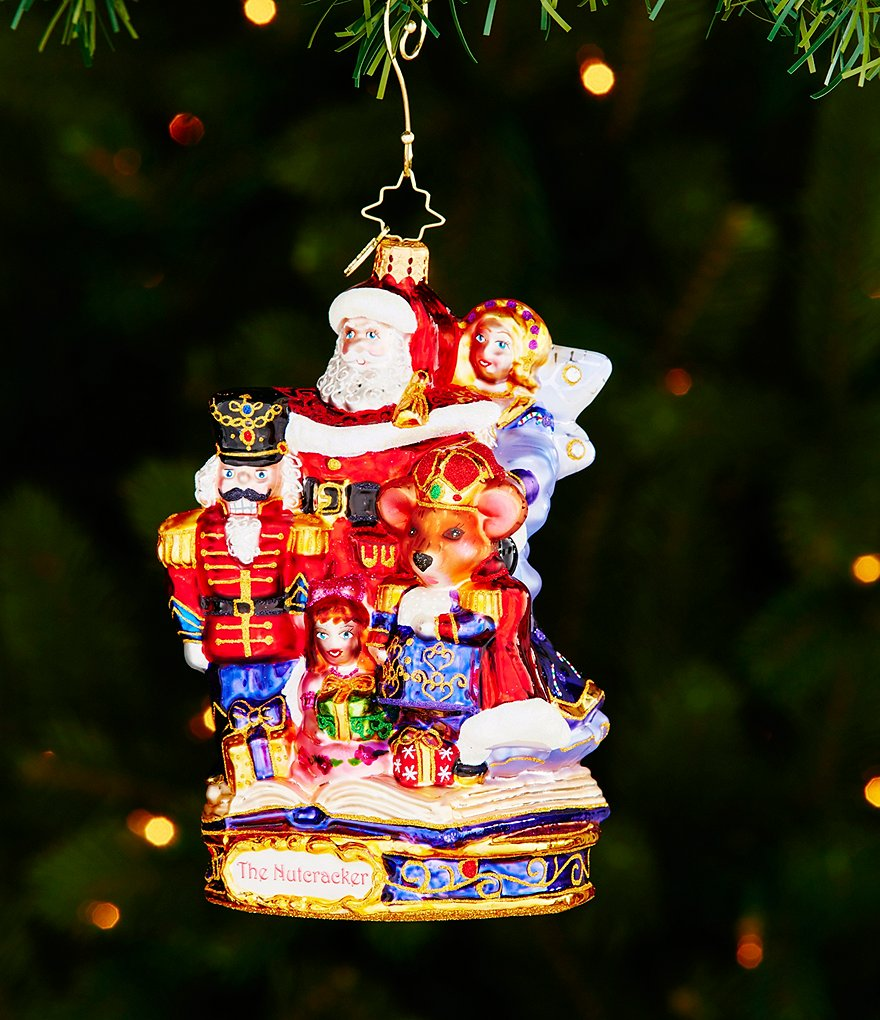 Christopher Radko 2016 Nutcracker Suite Collection The End of an Adventure Ornament