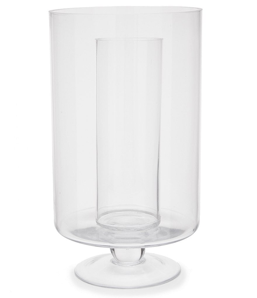 Southern Living Double-Wall Soda Lime Glass Hurricane