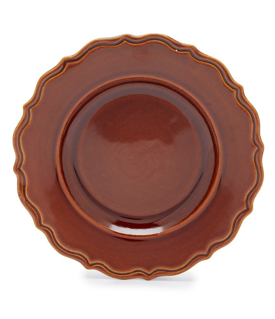 Southern Living Savannah Scalloped Collection Salad Plate