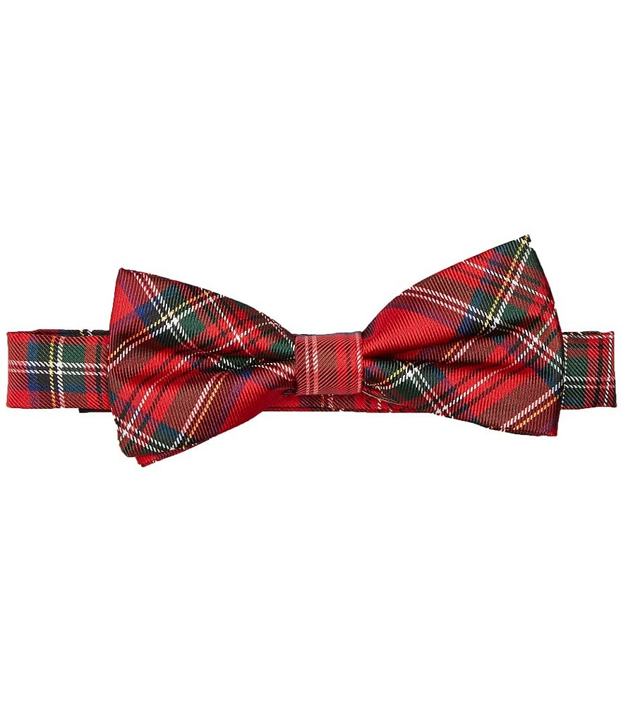 Class Club Plaid Bow Tie