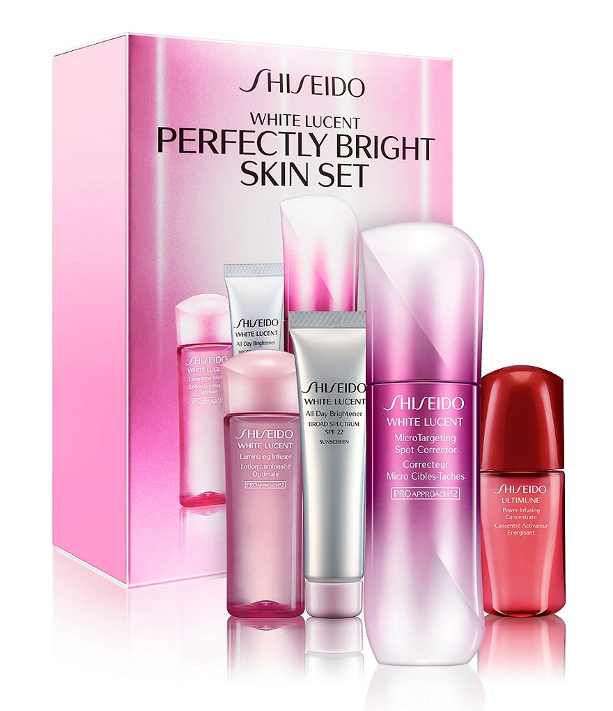 Shiseido White Lucent Perfectly Bright Skin Set