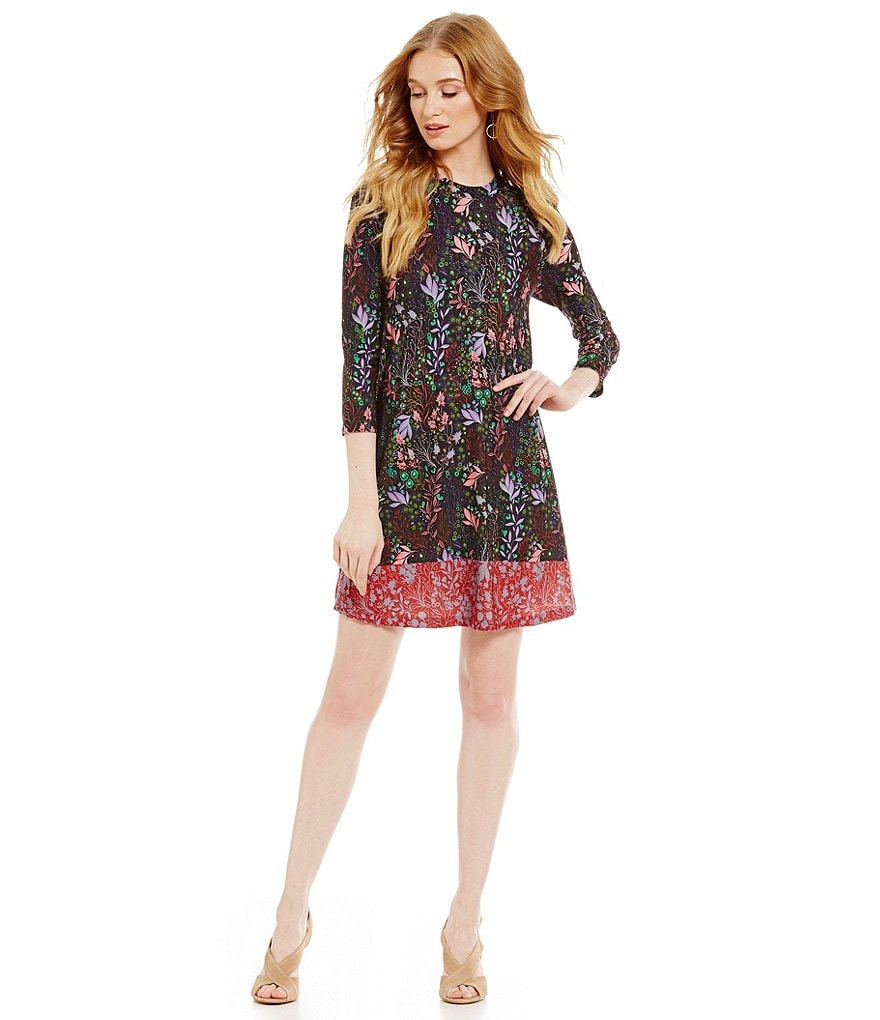 CATHERINE Catherine Malandrino Floral Hayden Swing Dress