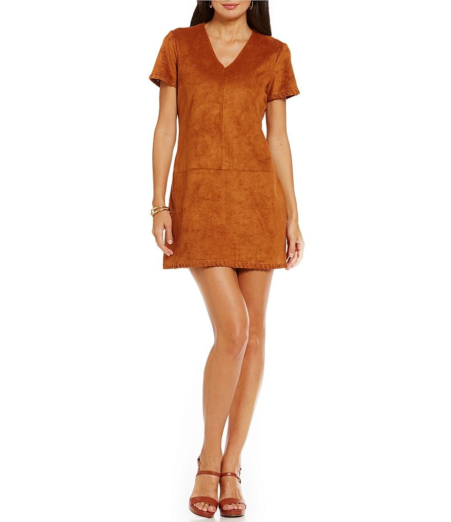 CATHERINE Catherine Malandrino V-Neck Marcella Shift Dress