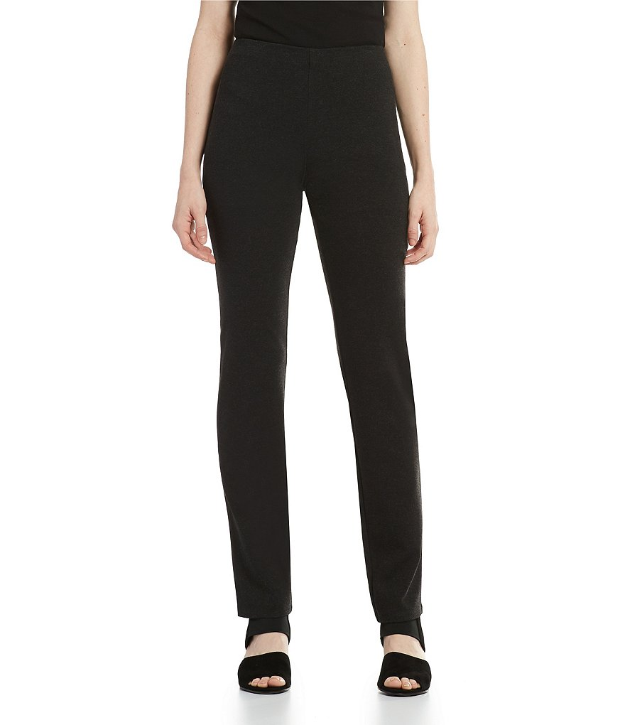 Eileen Fisher Slim Flat Front Pants