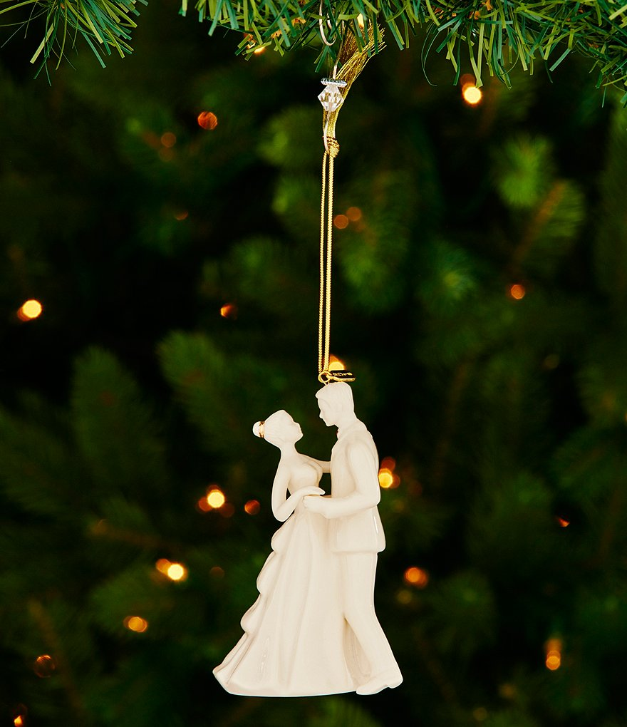 Lenox 2016 Always & Forever Bride & Groom Ornament