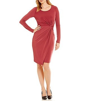 CATHERINE Catherine Malandrino Adele Faux-Wrap Dress