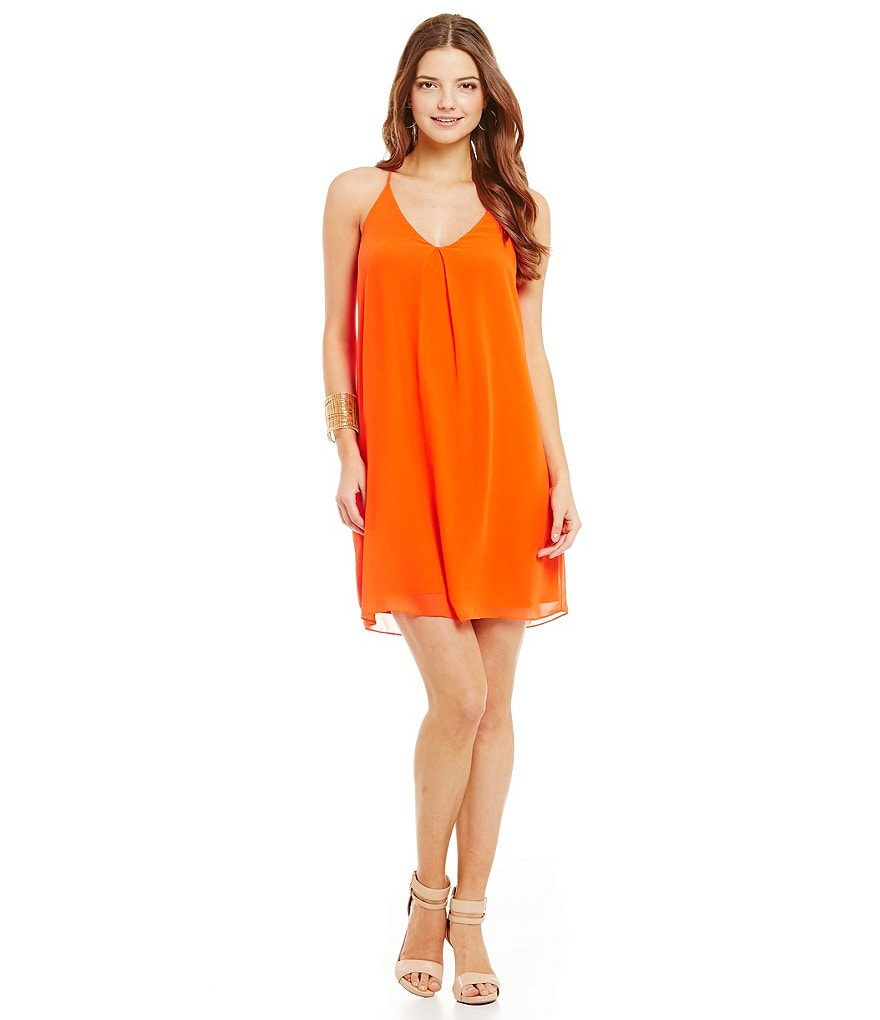 Gianni Bini Sleeveless Alayna Shift Dress
