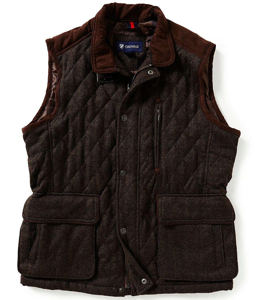 Cremieux Riley Quilted Wool Vest