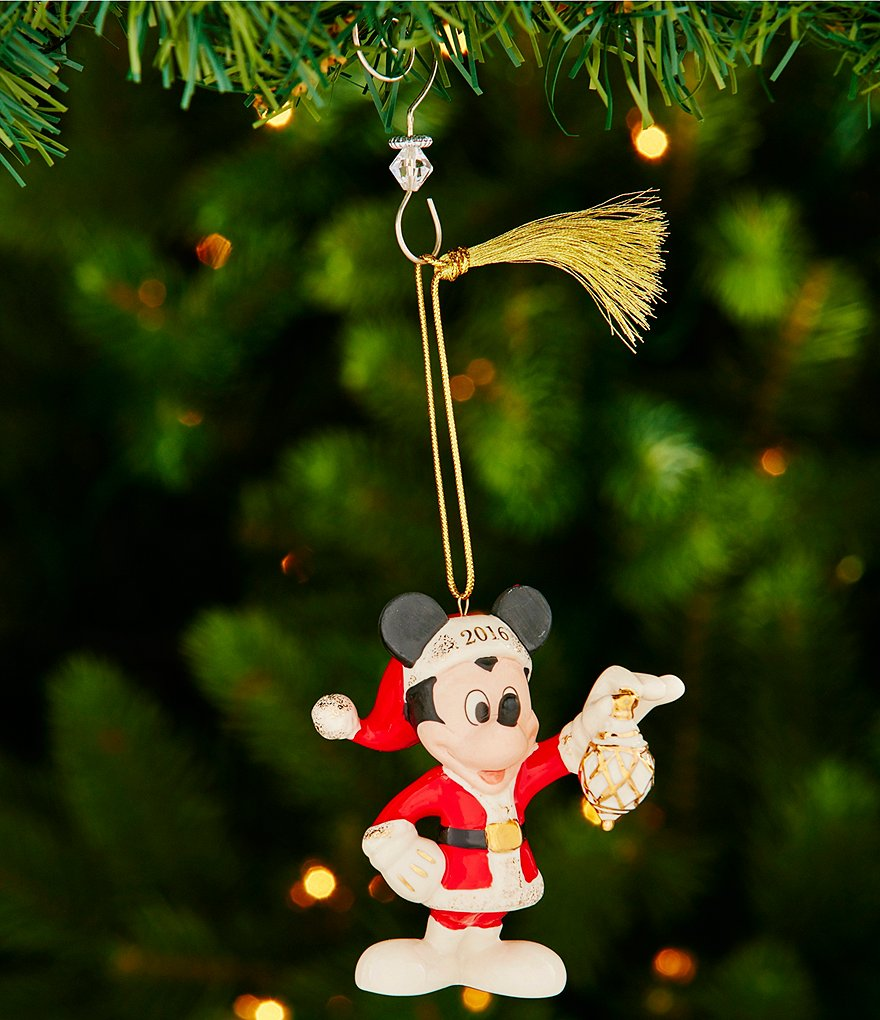 Lenox 2016 Decorate the Season with Mickey Mouse Ornament