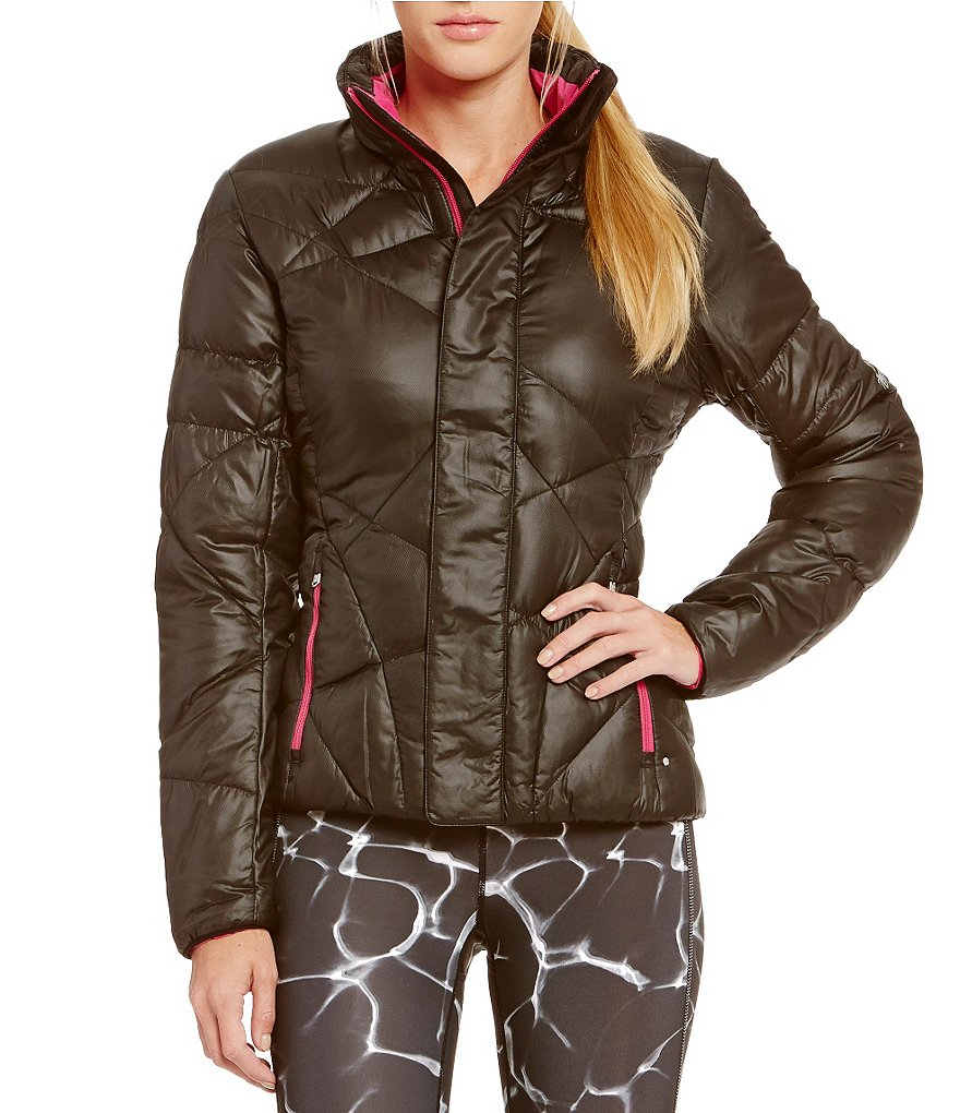 Spyder Actyve Geared Short Quilted Down Jacket