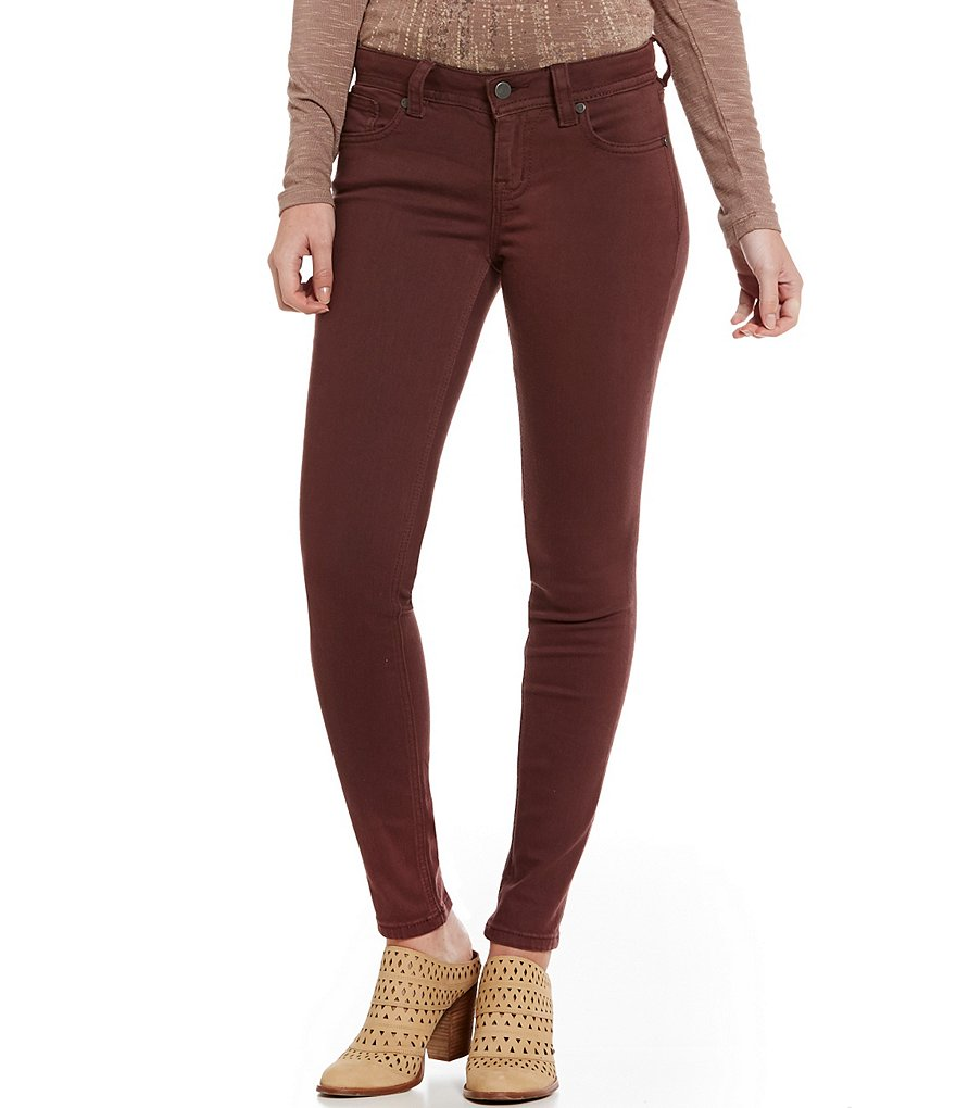 Miss Me 5-Pocket Mid-Rise Skinny Jeans