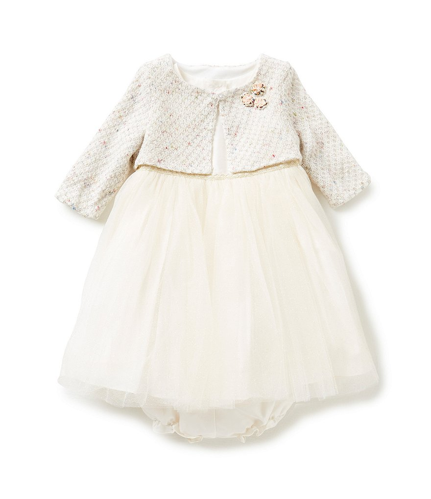 Pippa & Julie Baby Girls 12-24 Months Ballerina Dress & Cardigan Set