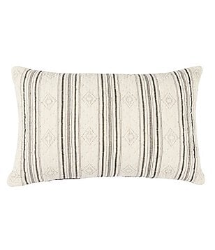 Cremieux Sullivan Striped & Diamond Breakfast Pillow