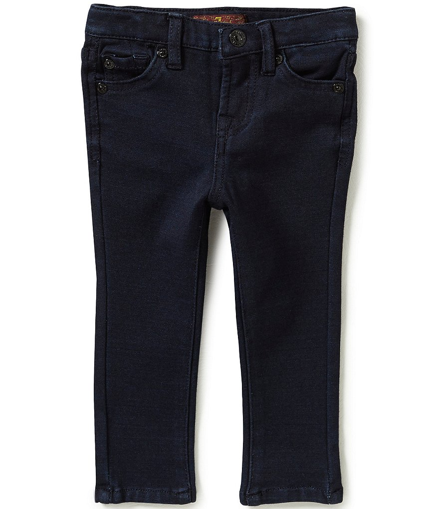 7 For All Mankind Baby Girls 12-24 Months The Skinny Knit Denim Jeans