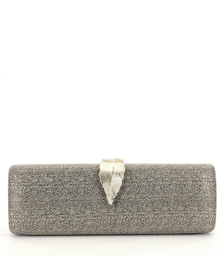 Kate Landry Leaf-Clip Clutch