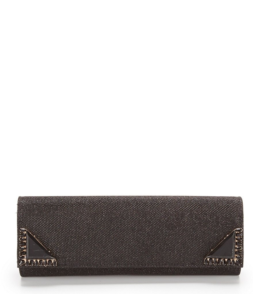 Kate Landry Fancy Corner Flap Clutch