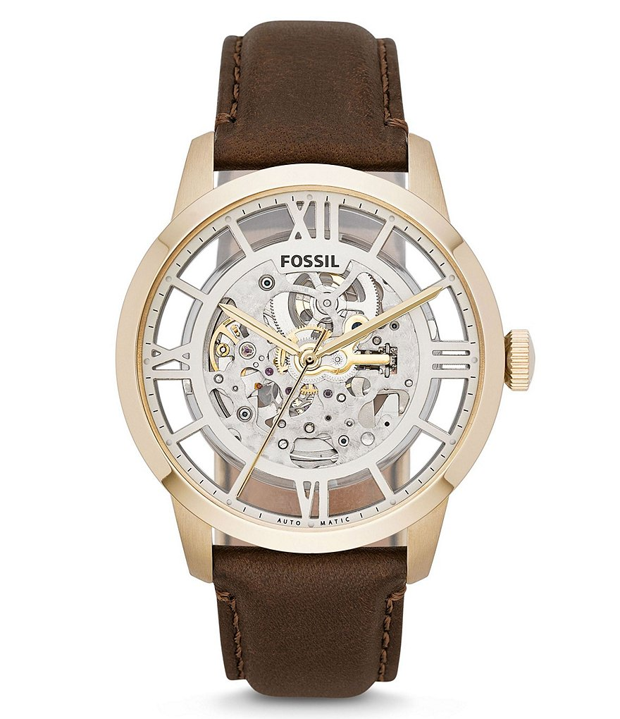 Fossil Townsman Automatic Skeleton Watch