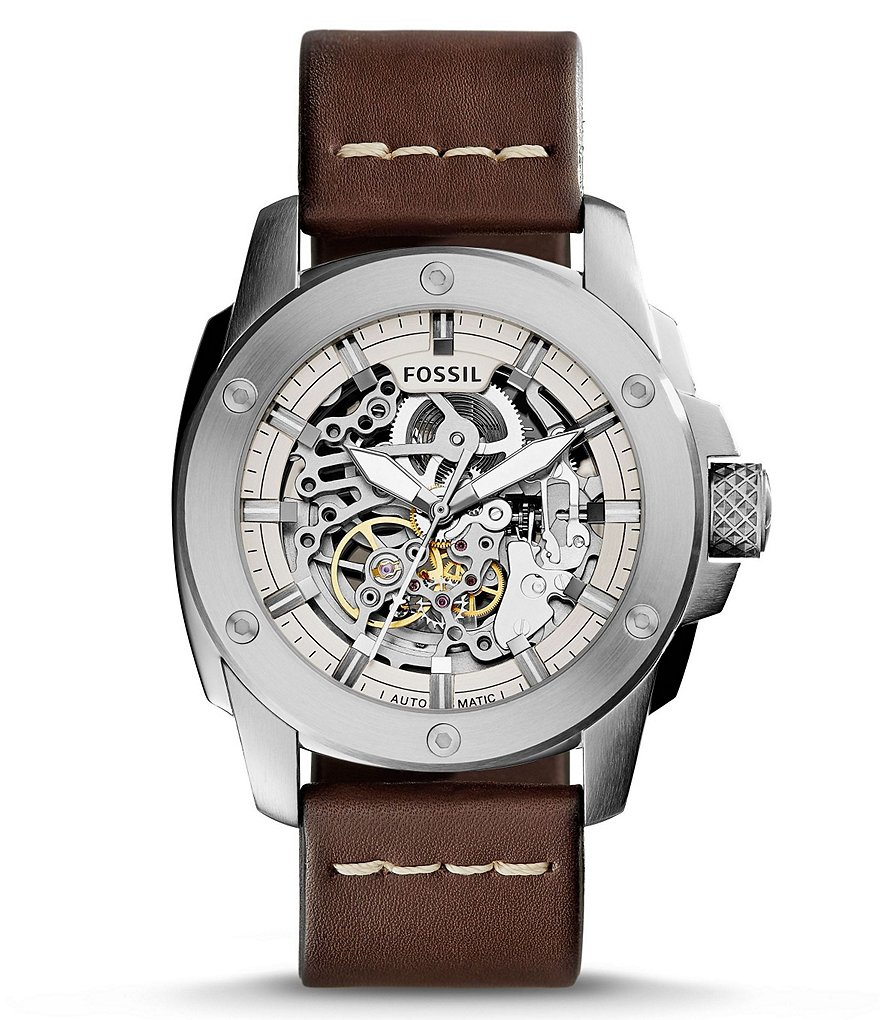 Fossil Modern Machine Automatic Skeleton Watch