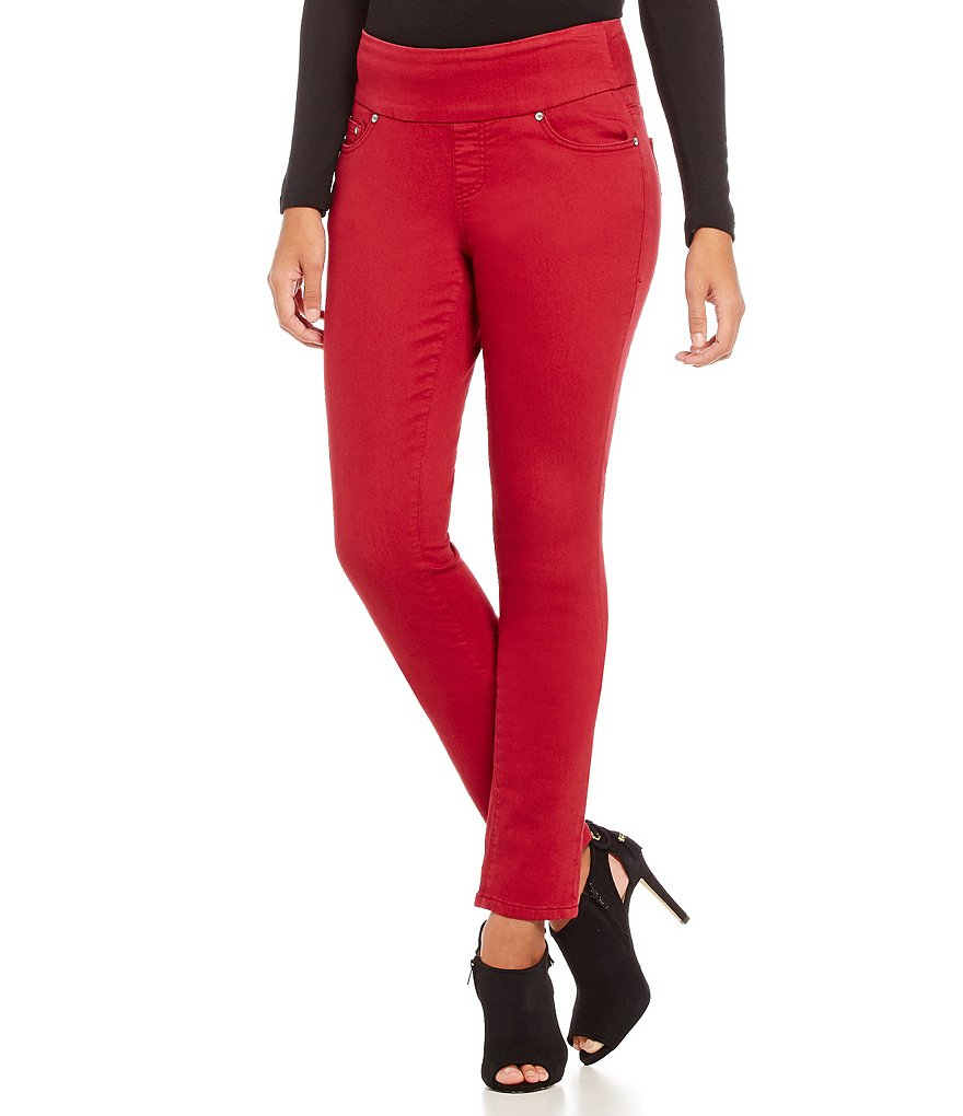 Jag Jeans Nora Skinny Knit Colored Denim Jeans